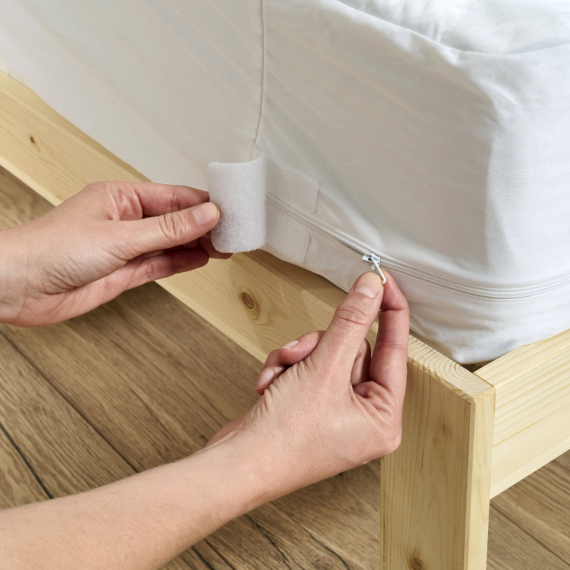 Packaging luxe oreiller sur mesure rectangle